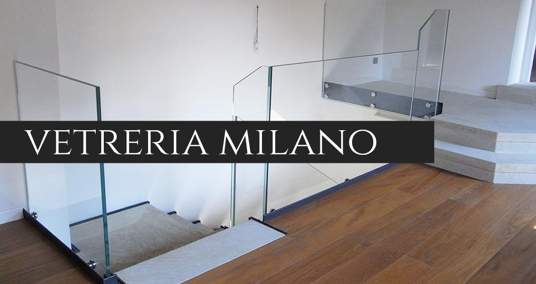 Via Solferino Milano - Vetreria a Via Solferino Milano