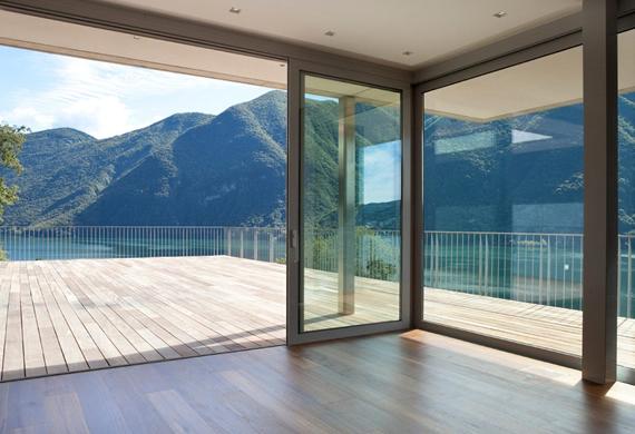 Porte, Finestre e divisori in vetro a Viale Jenner Milano (4)