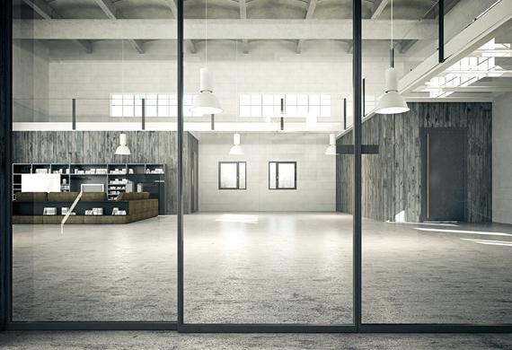 Porte, Finestre e divisori in vetro a Ca' Granda Milano (7)